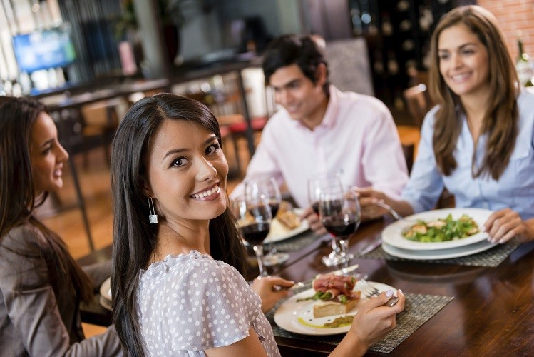 Image result for While Dining at a Restaurant