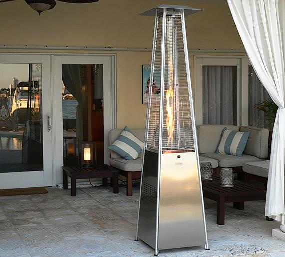 about the most popular types of outdoor heaters