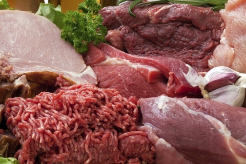 Fresh Raw Meat Background