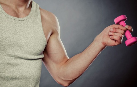 Can You Build Muscle Mass with Light Weights Picture