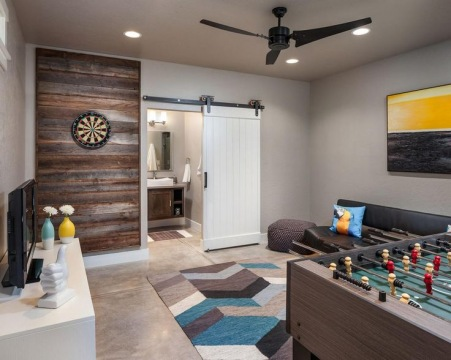 Family Entertainment Room - Design Ideas