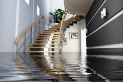 How to handle an indoor flooding